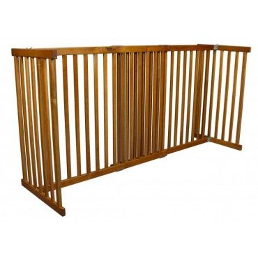 Freestanding Dog Barrier   Tall. Indoor Dog GatesPet GateExtra Wide ...