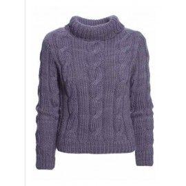 Sweater med snoninger 303 fra Canard as