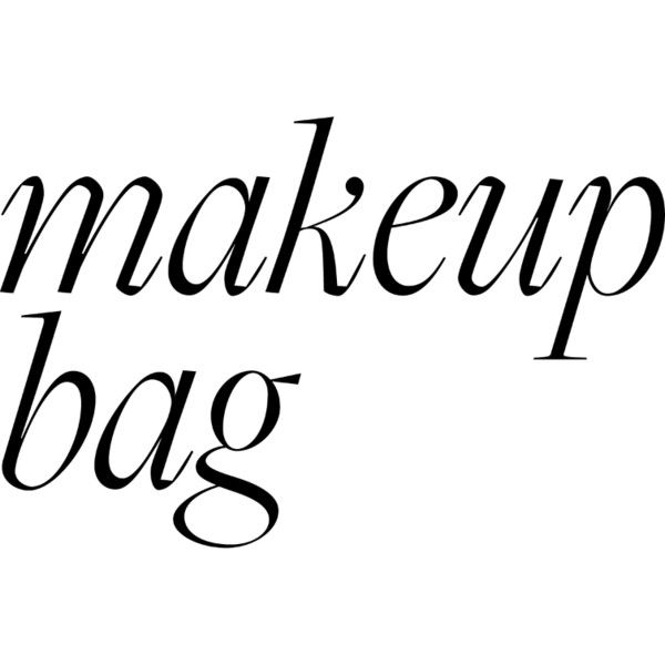 Makeup Bag liked on Polyvore featuring beauty products