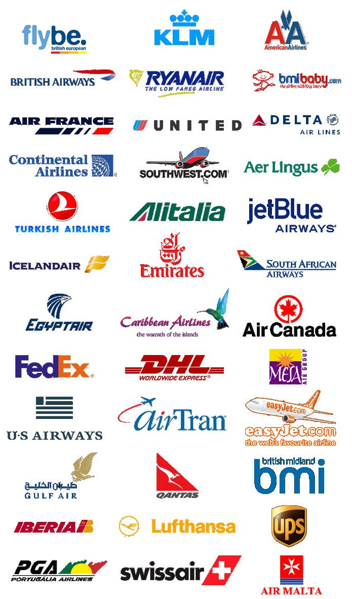 airline logos | Airline logos - what one will you choose ...