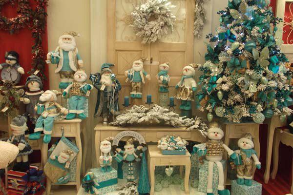 Natal turquesa bem-vindo também!!!