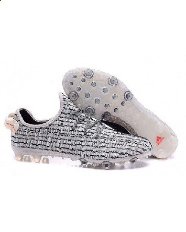 0bdd9a495686  2017 CHEAP  Adidas Yeezy 350 FootbAll Boots Grey Black Salable £57.80