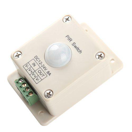 Bqlzr Dc 12v 24v 8a Automatic Led Pir Motion Sensor Switch Light Lighting Motion Sensor Sensor Security Cameras For Home