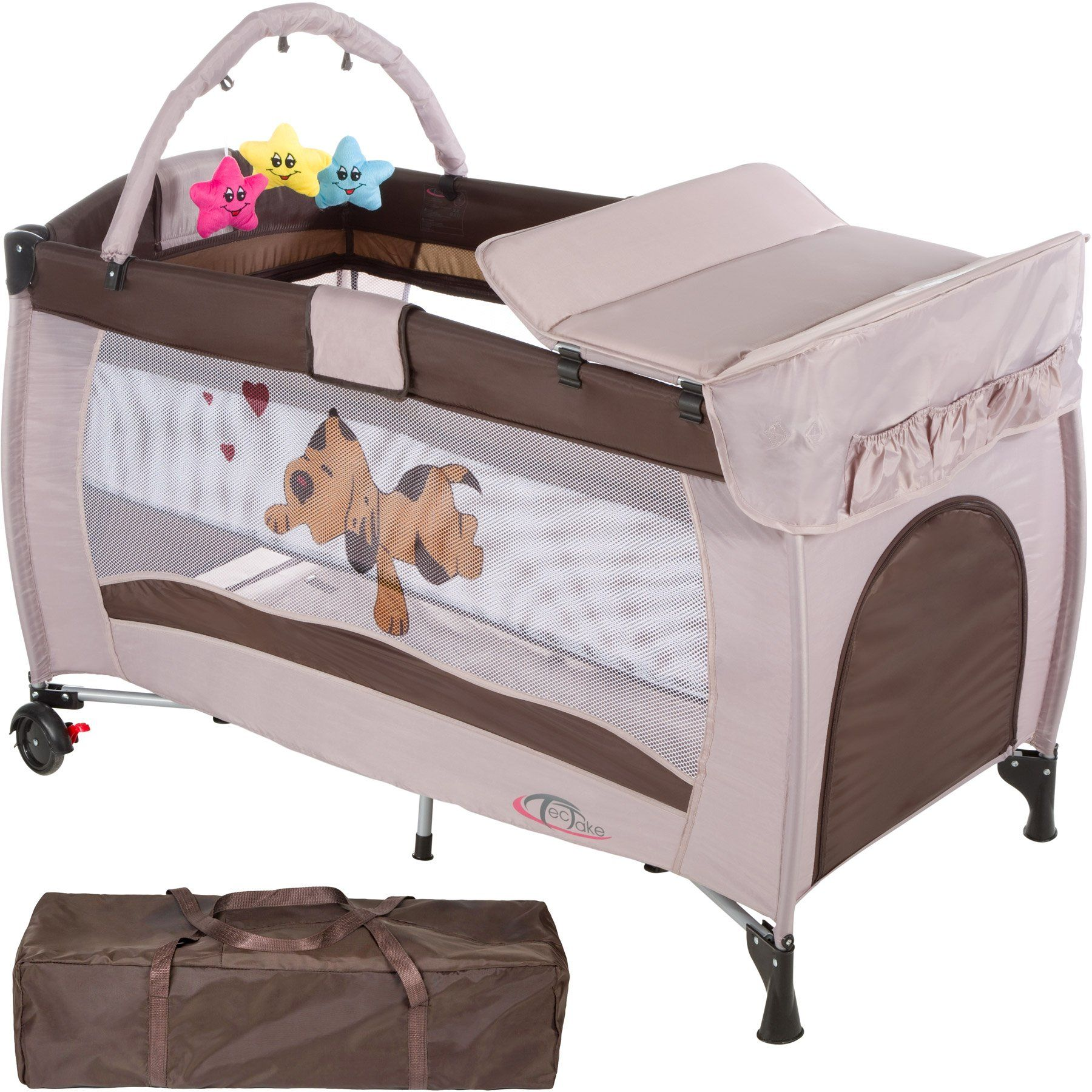 Baby Playpen Height Tectake New Portable Child Baby Travel Cot Bed Playpen With