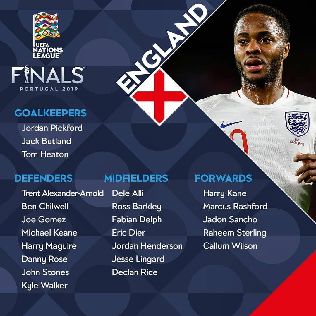 Uefa Nationsleague Finals 2019 Instagram Com League Finals Goalkeeper
