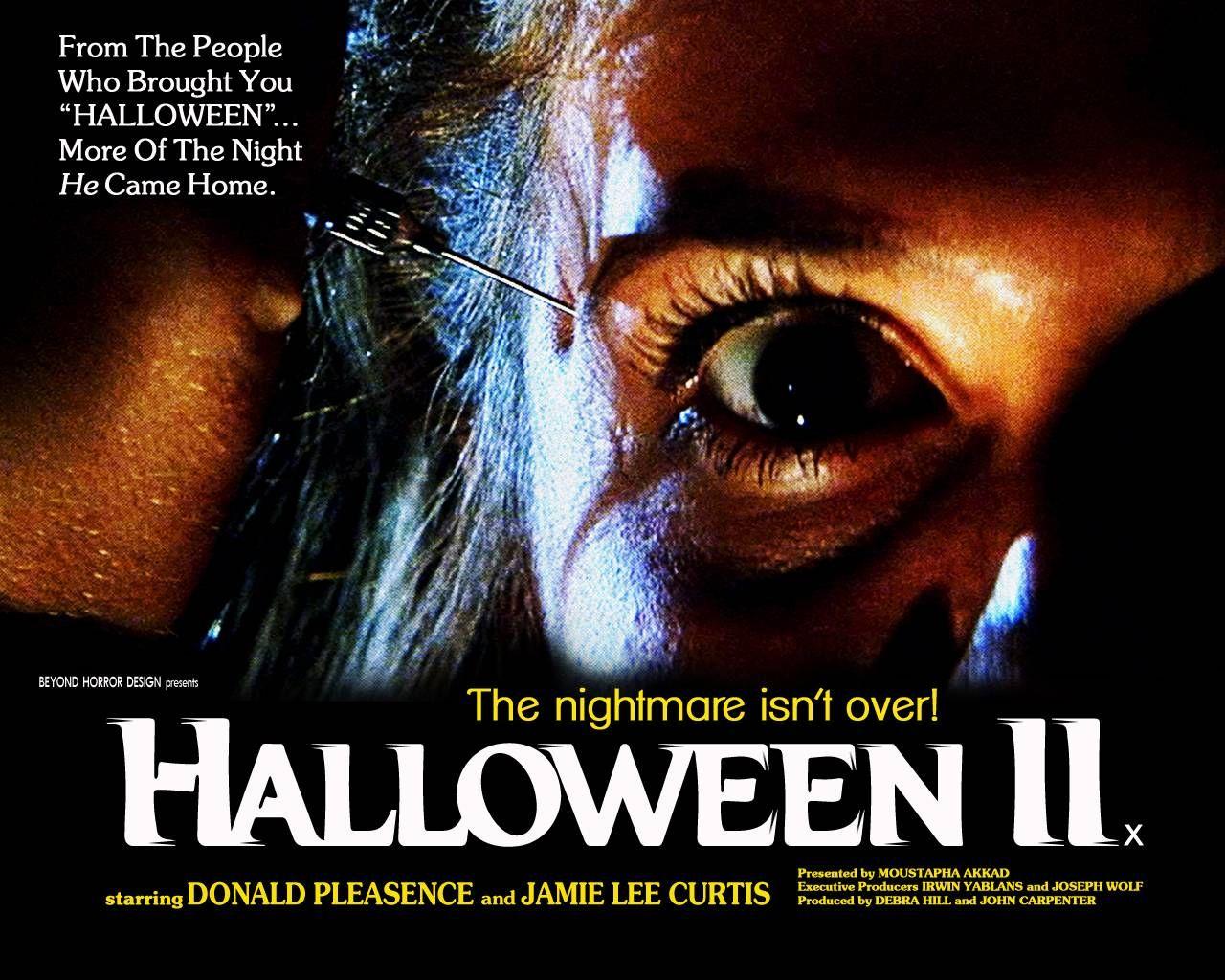 Halloween 2 poster Halloween ii, Michael myers halloween