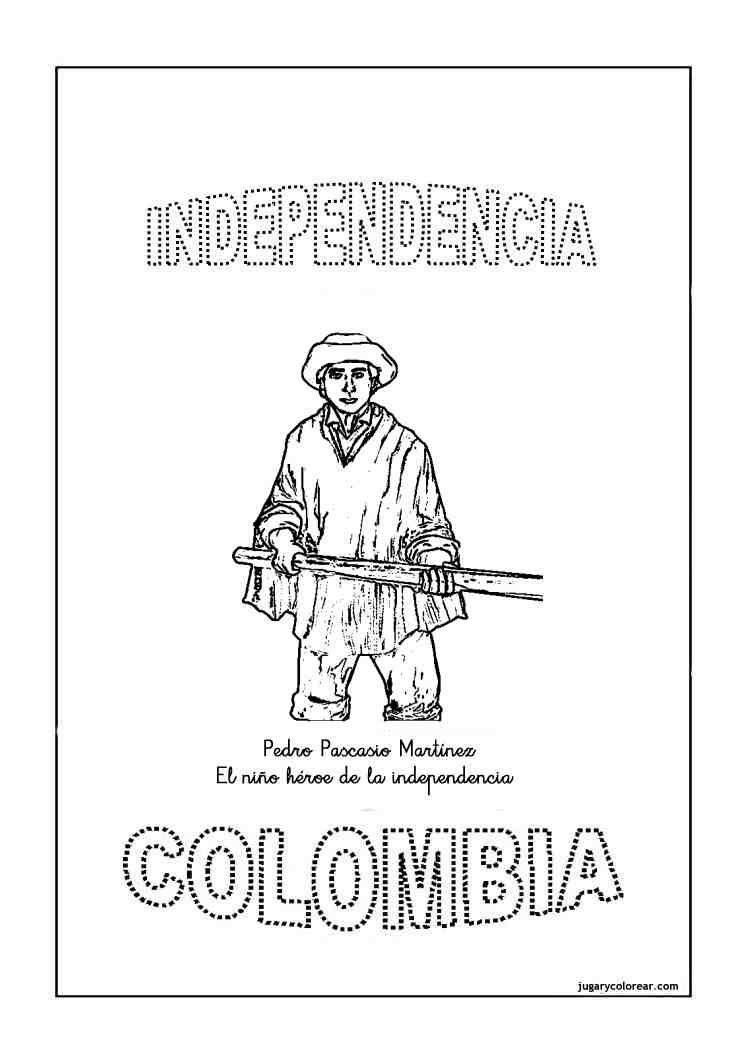 Dibujos De La Independencia De Colombia Para Pintar picture gallery