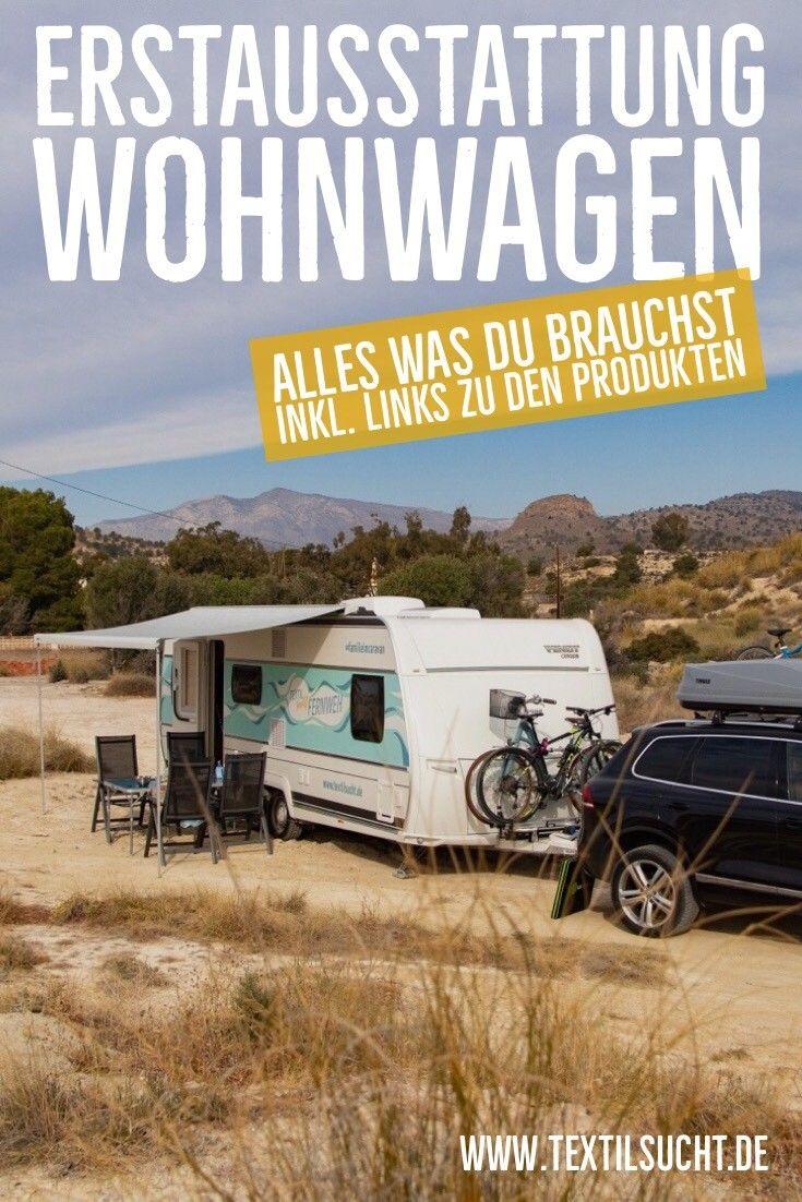 Campen als Familie: Erstausstattung für unseren Wohnwagen #wohnwagen