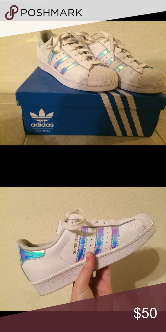 wholesale adidas superstar holographic white paper c05b3 7463f