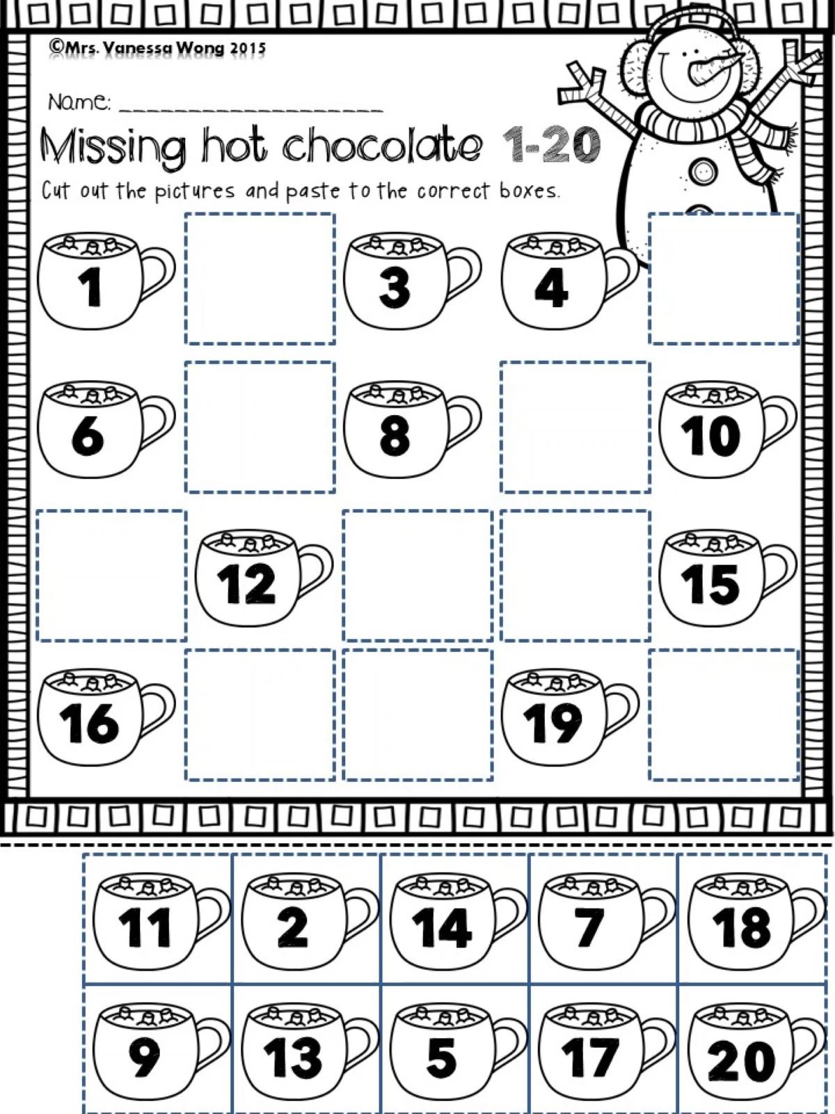Fall, Winter, Spring & Summer Seasonal bundle-math & literacy pack for Kindergarten