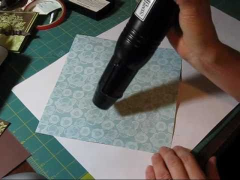 pretty - and different - embossing technique