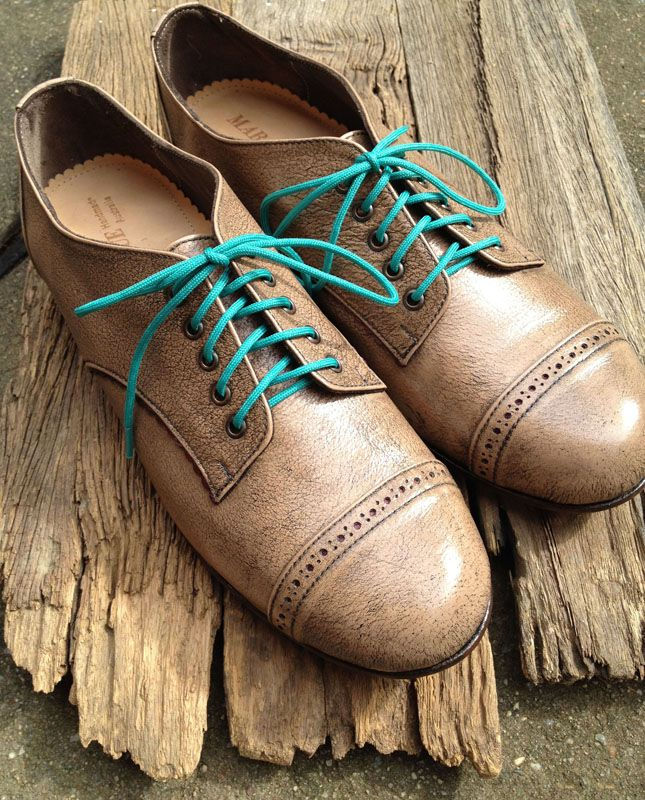 MARCUE-Womens-Handmade-Leather-Shoes-Sandstone-Brown-Derby-Shoes ...