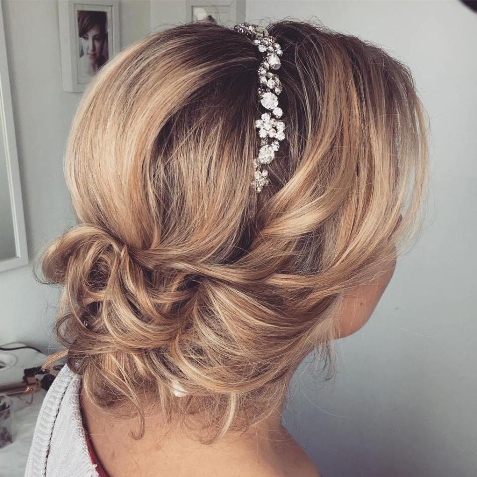 top 20 hochzeitsfrisuren für mittleres haar | frisur