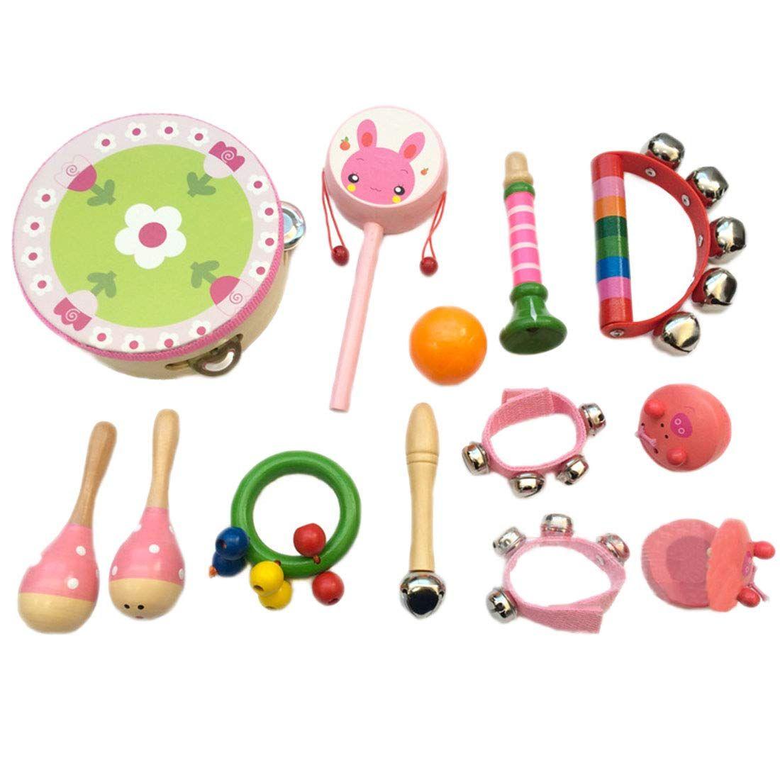 Musicales 13pcs Percusion Instrumentos Infantiles Yvsoo LUzVpMGqS