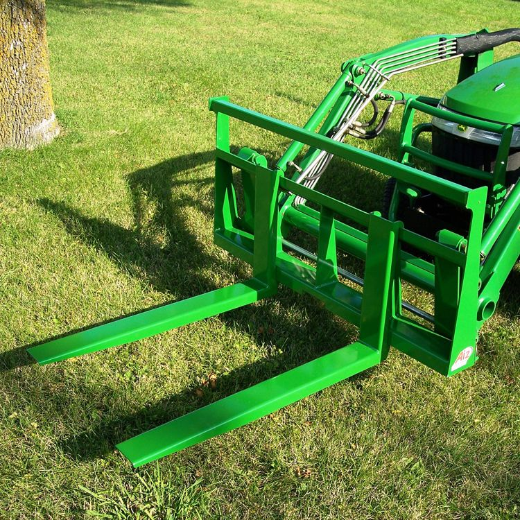 Light Duty Pallet Forks for John Deere Compact Tractors