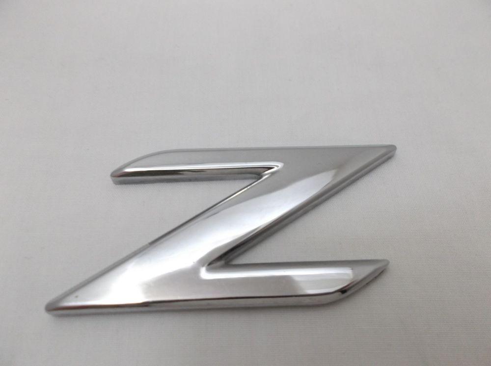 96 02 Bmw E36 Rear Emblem Z For Trunk Lid Chrome Logo Nameplate