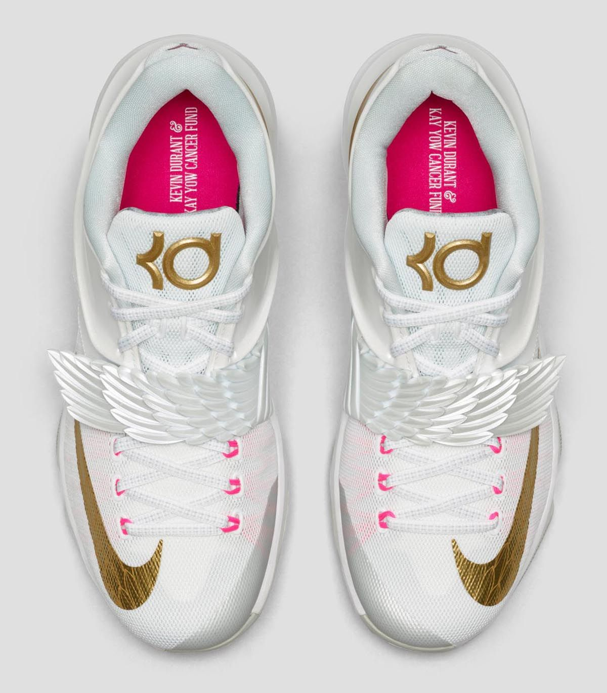 "timeless design cef87 4c53a Nike KD 7 ""Aunt Pearl"" (Angel) Official Images  Release Info"