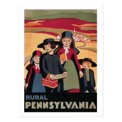 #Pennsylvania rural USA State travel postcard - #travel #trip #journey #tour #voyage #vacationtrip #vaction #traveling #travelling #gifts #giftideas #idea