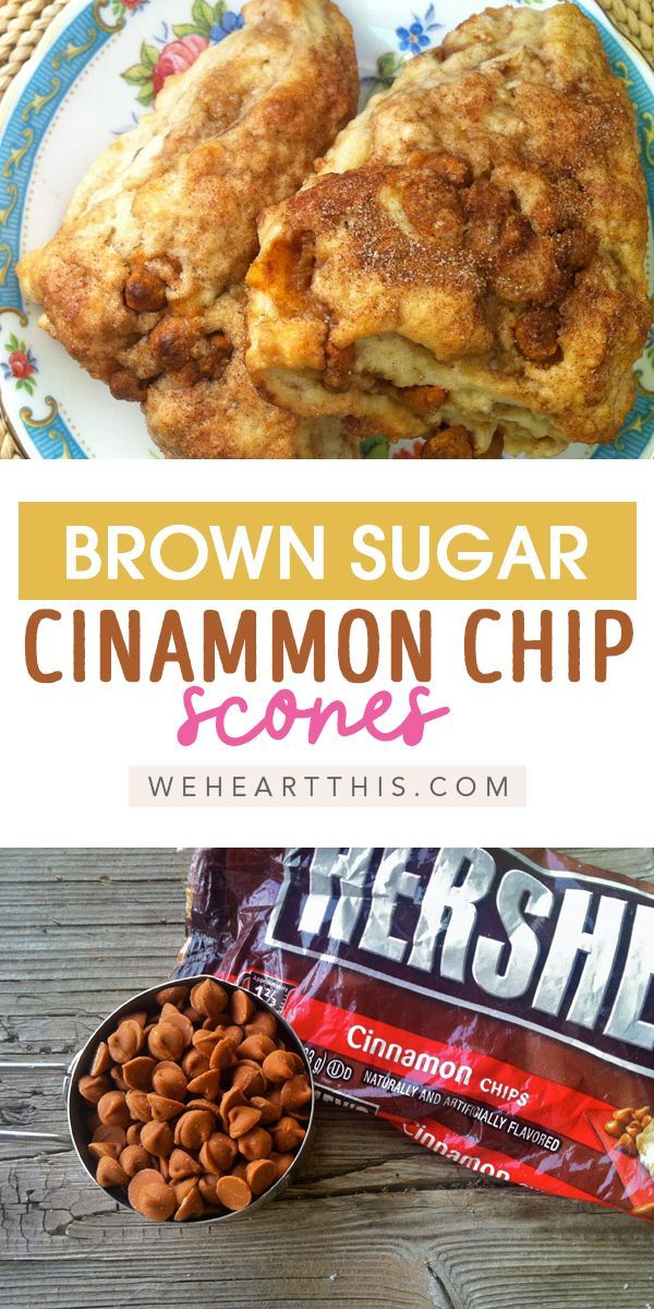 Who doesn't love brown sugar and cinnamon scones? This easy cinnamon chips sco...  Who doesn't love brown sugar and cinnamon scones? This easy cinnamon chips scones recipe will hav #Brown #Chips #Cinnamon #doesnt #Easy #Love #sco #Scones #sugar