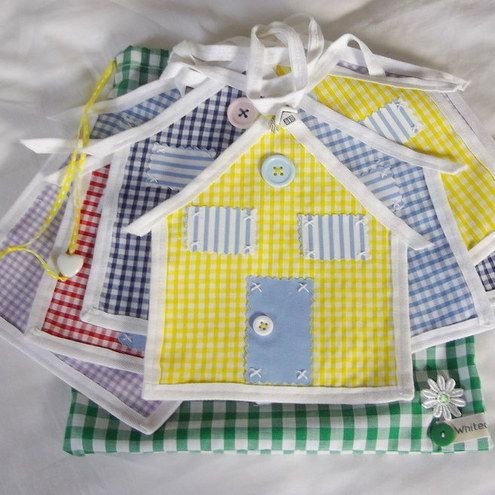 BUNTING UNUSUAL HOUSE DESIGN £20.00 | Handmade | Pinterest ...