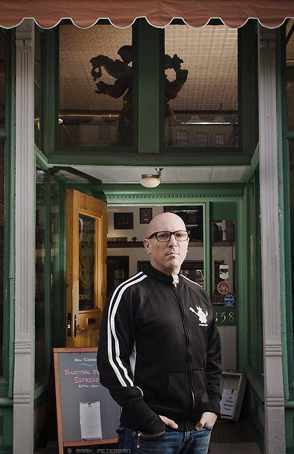 Maynard at Caduceus shop in 2020 | Maynard james keenan