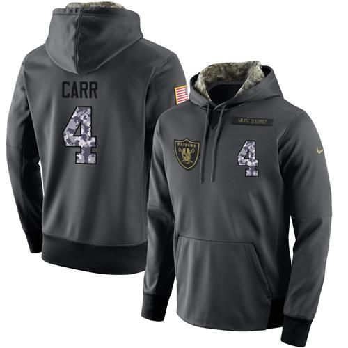 Hot NFL Men's Nike Oakland Raiders #4 Derek Carr Stitched Black  for sale