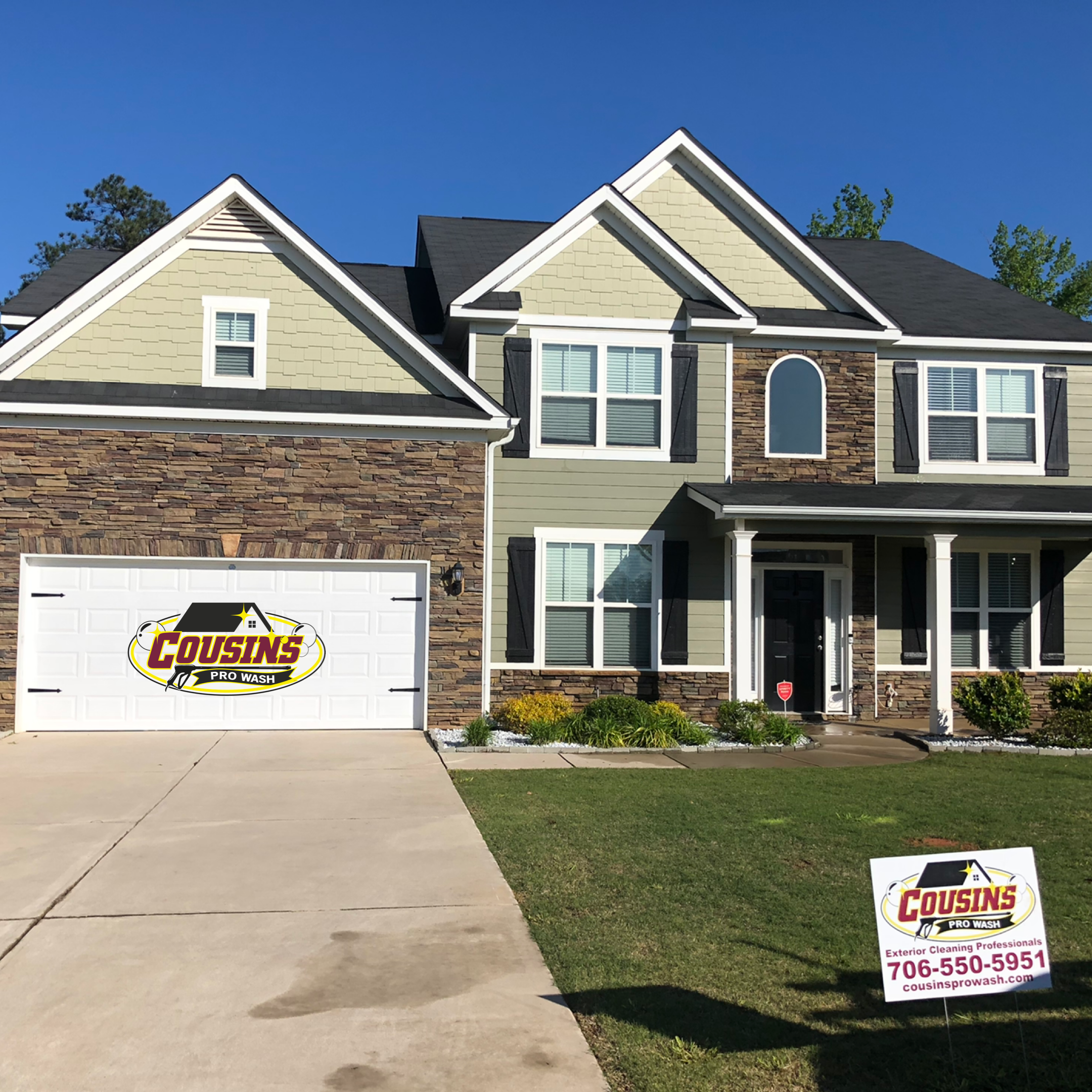 Amazing House Washing In Augusta Ga In 2020 House Wash House Styles House