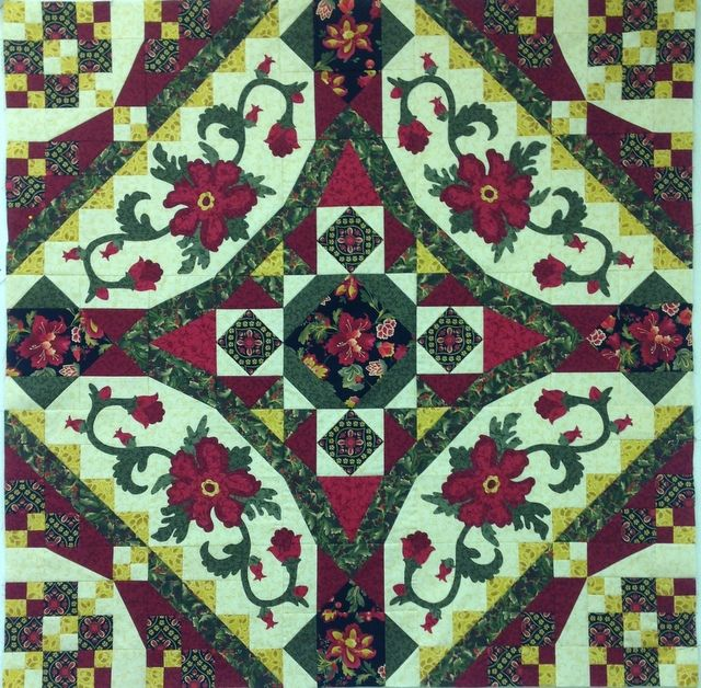 Contessa Block of the Month | Quilt Barn - block of the month Clubs