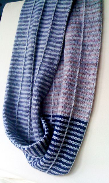 Insert Table Moebius. Free pattern that will let you use any weight of yarn in any combination of colors.