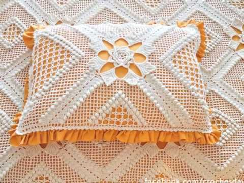 Almofadas De Croche Youtube Com Imagens Almofadas De Croche