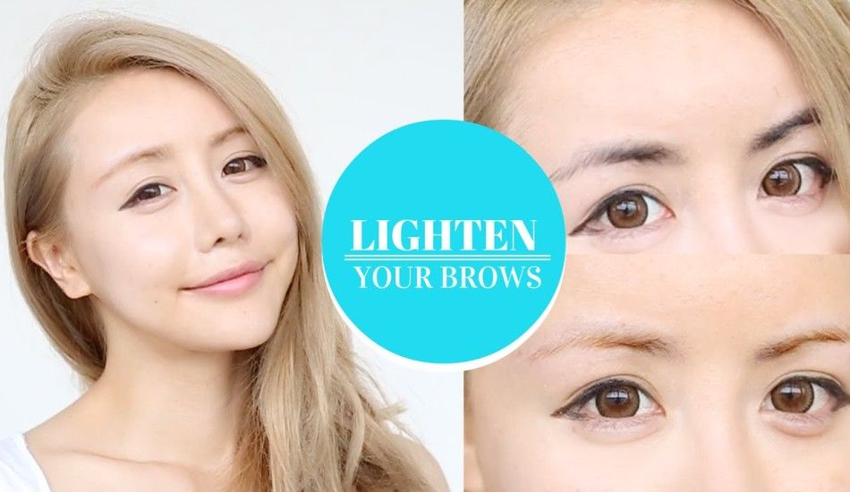 Lighten Your Brows With This Eyebrow Bleaching Tutorial Bringing You Truth Inspiration Hope Lighten Eyebrows Brows Lightening
