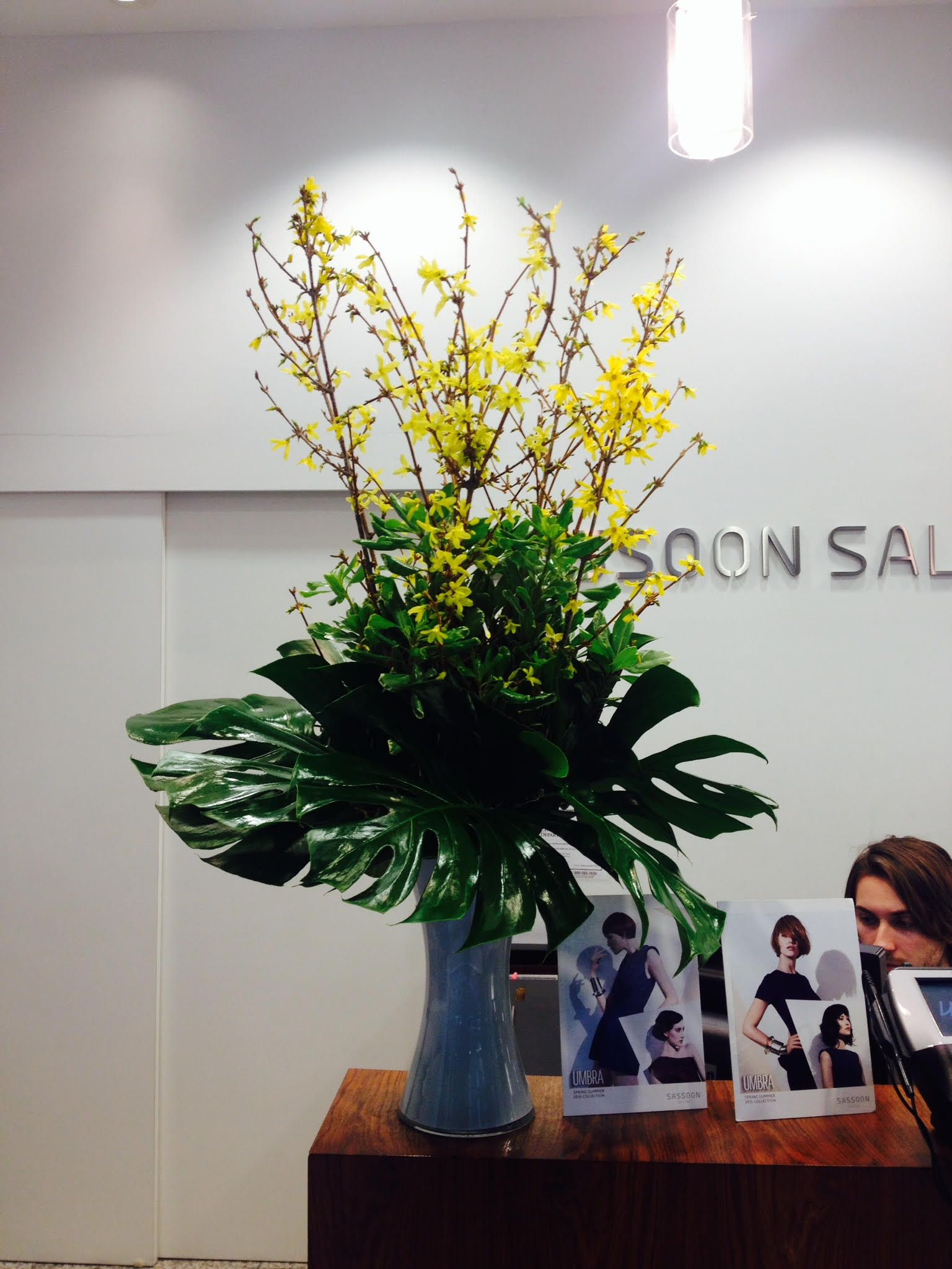 Each week our designers produce new color display with for Office arrangement