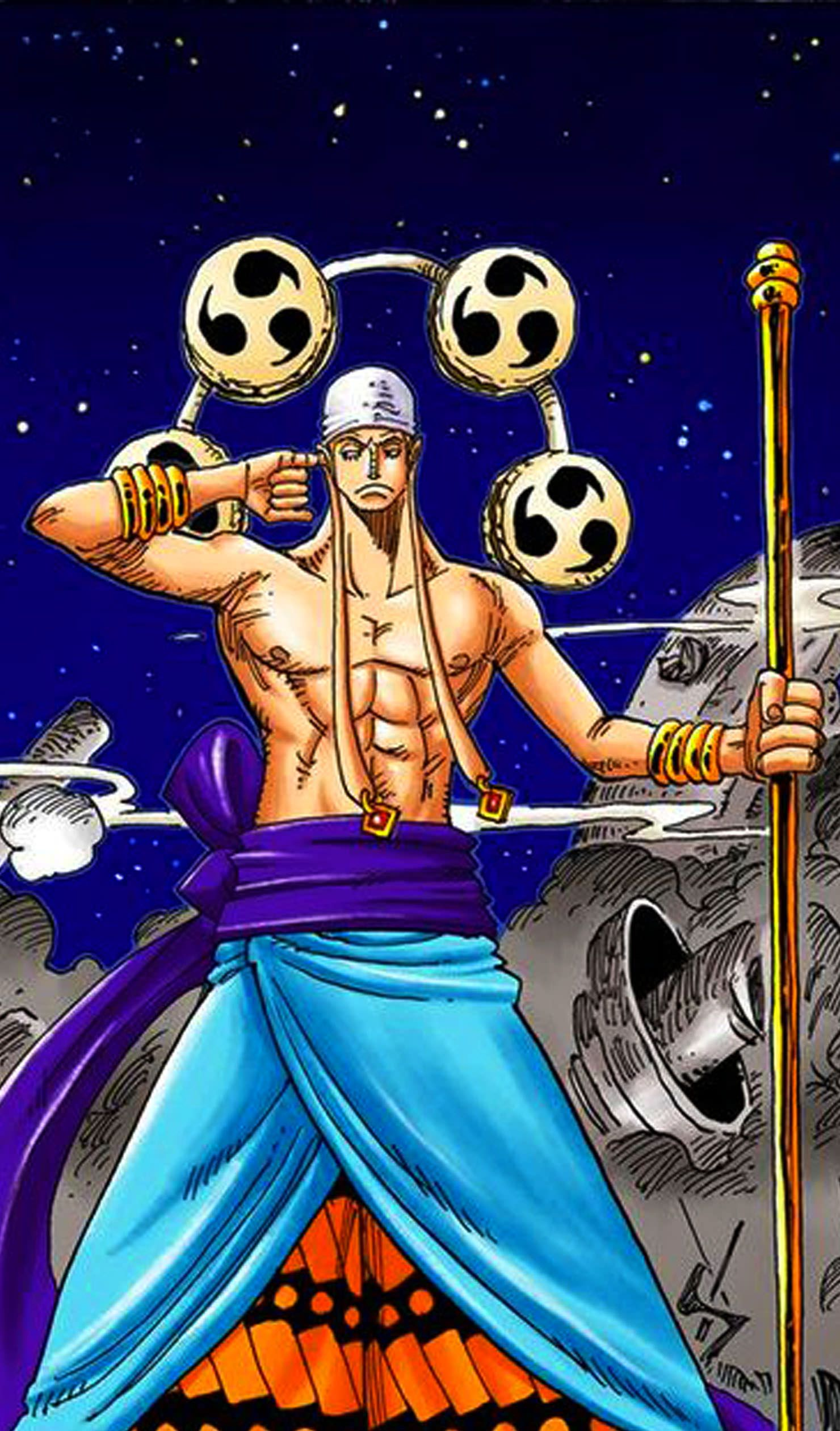 collection image wallpaper: Enel One Piece Wallpaper