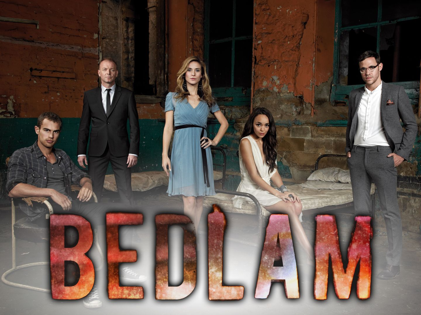 BEDLAM Drama and supernatural chills in this series