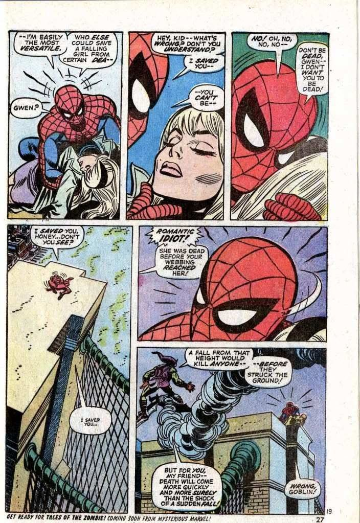 The night gwen stacy died marvel marvel comics marvel comics - Marvel spiderman comics pdf ...