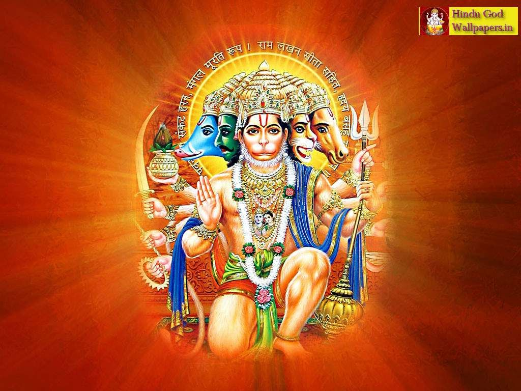 Free Latest Panchmukhi Hanuman Wallpaper Free Download Panchmukhi
