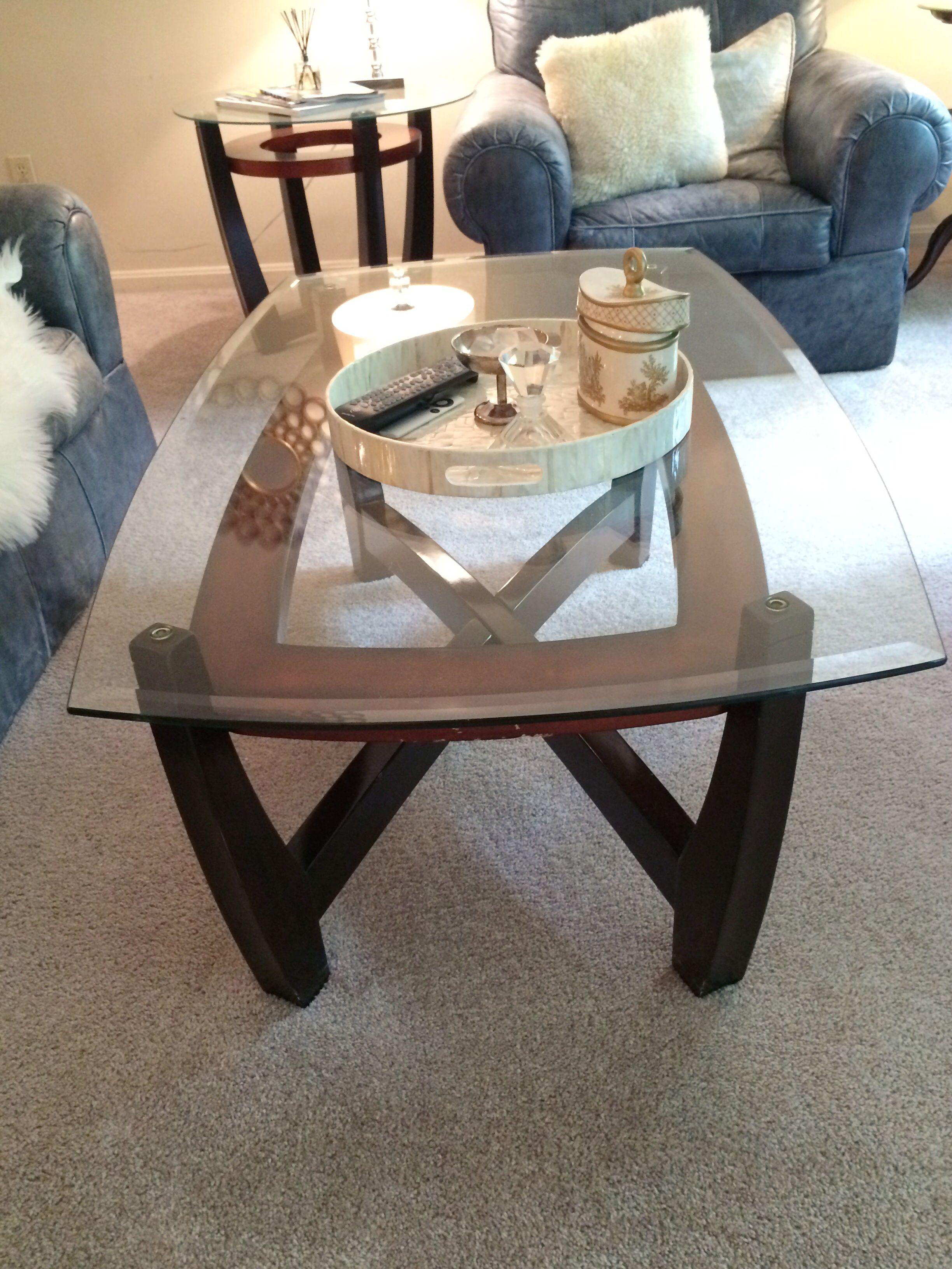 Dark Wood Coffee Table With Glass Top 50 X 30 X 20 Coffee Table Coffee Table Wood Dark Wood Coffee Table [ 3264 x 2448 Pixel ]