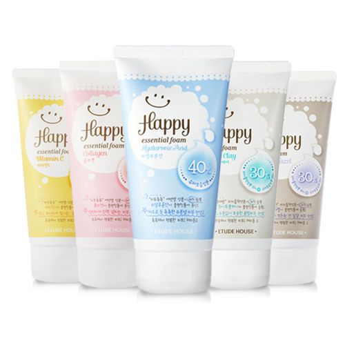 Details About Etude House Etudehouse Happy Cleansing Foam 150ml