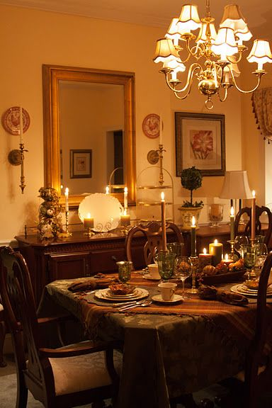 Thanksgiving tablescape 2011