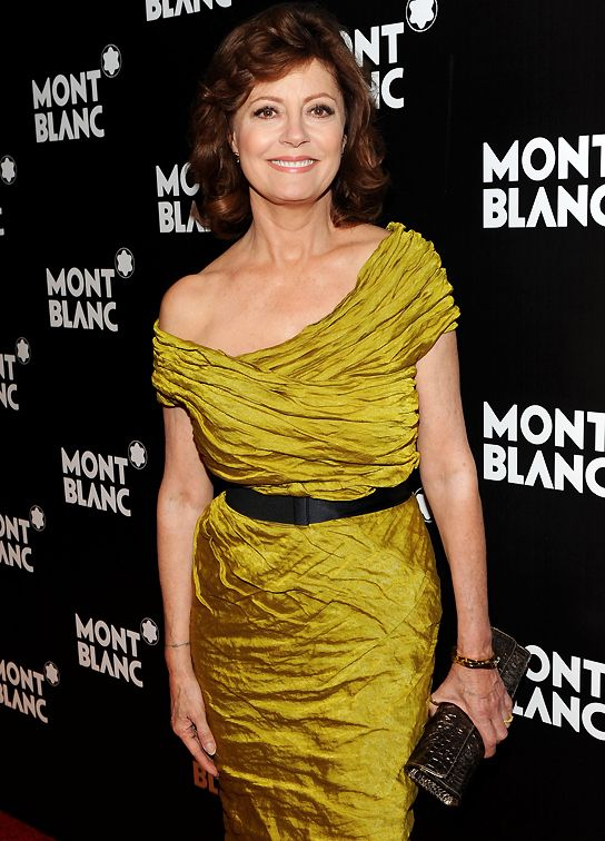 Susan Sarandon is a Deep/Dark Autumn | ColorAlmanac.com