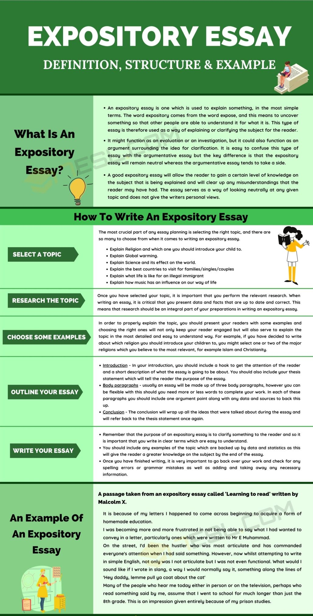 Expository Essay Example Writing Skills Expositary