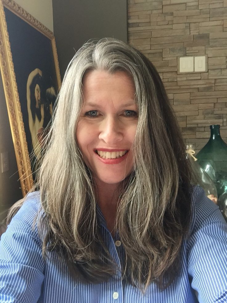 Image Result For Growing Out Gray With Balayage Silver