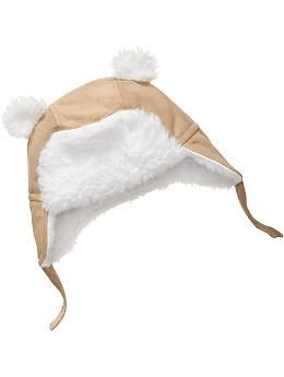 9c0234af0 Sueded Sherpa-Lined Trapper Hats for Baby | Old Navy | o list | Baby ...
