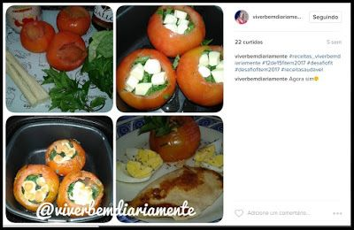 Viver Bem Diariamente: Tomates Recheados