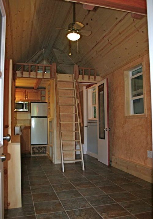 house tiny house trailer - Tiny House Trailer Interior