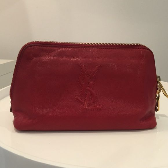 Authentic Yves Saint Laurent pouch Used but in great condition Saint Laurent Accessories