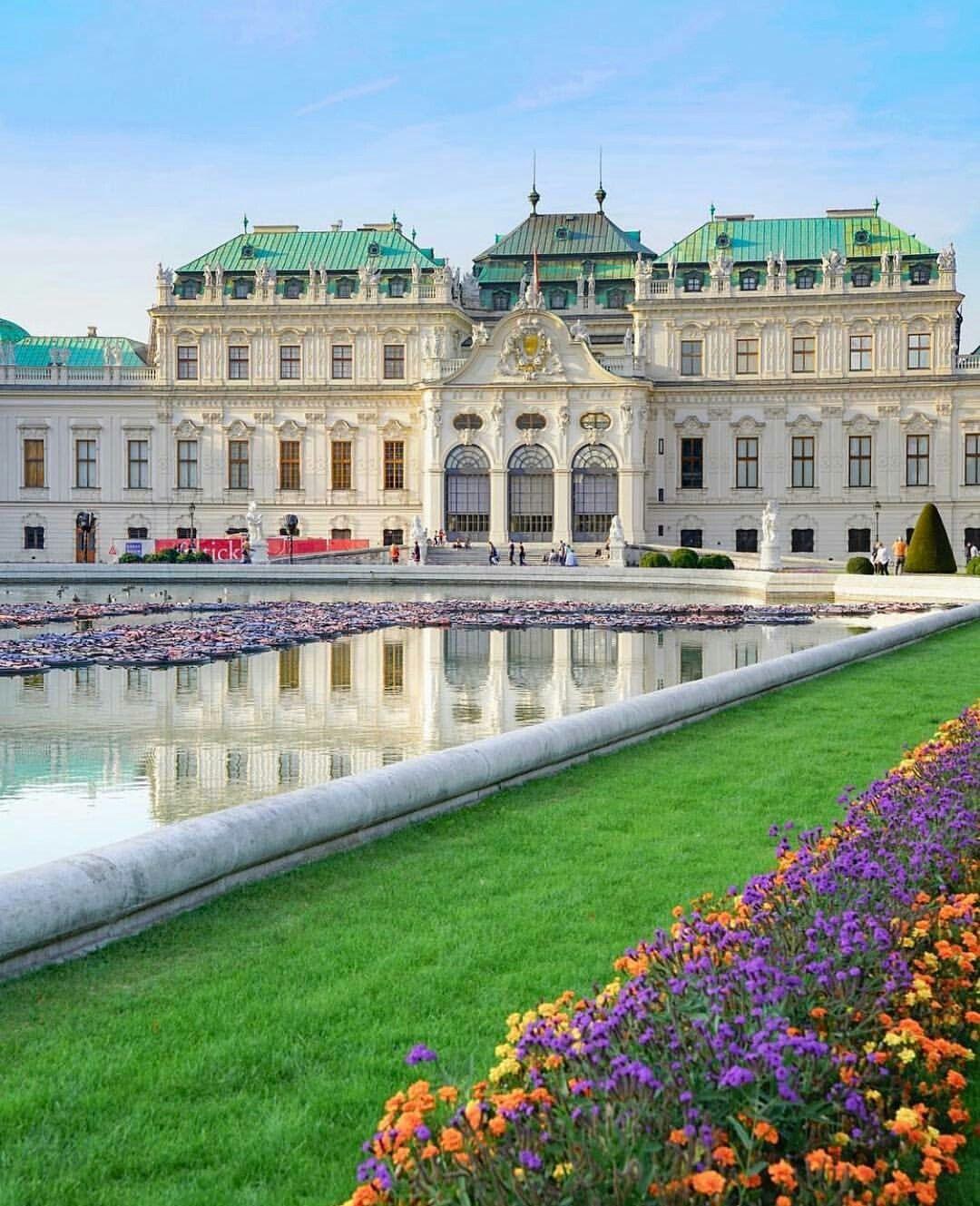 дворцы австрии картинки степени
