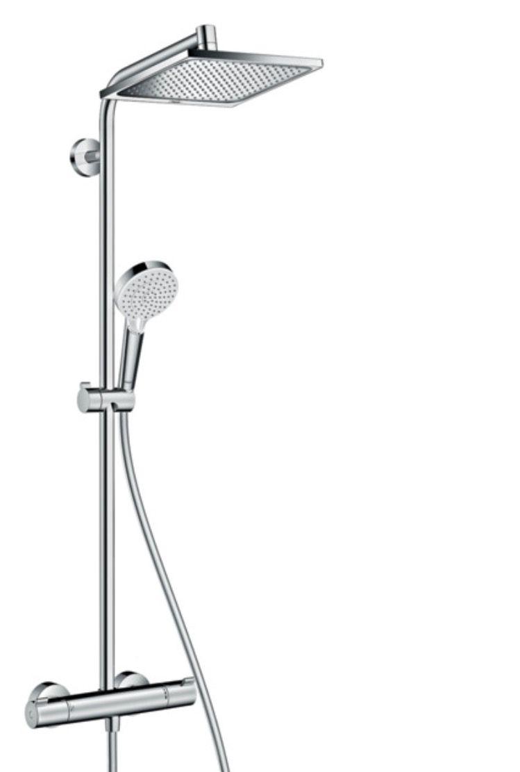 Colonne de douche salle de bain des enfants  Hansgrohe showerpipe crometta E240 1 jet