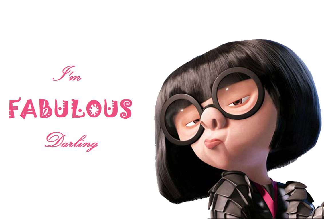 Citaten Over Mode : Edna mode the incredibles just because life quotes