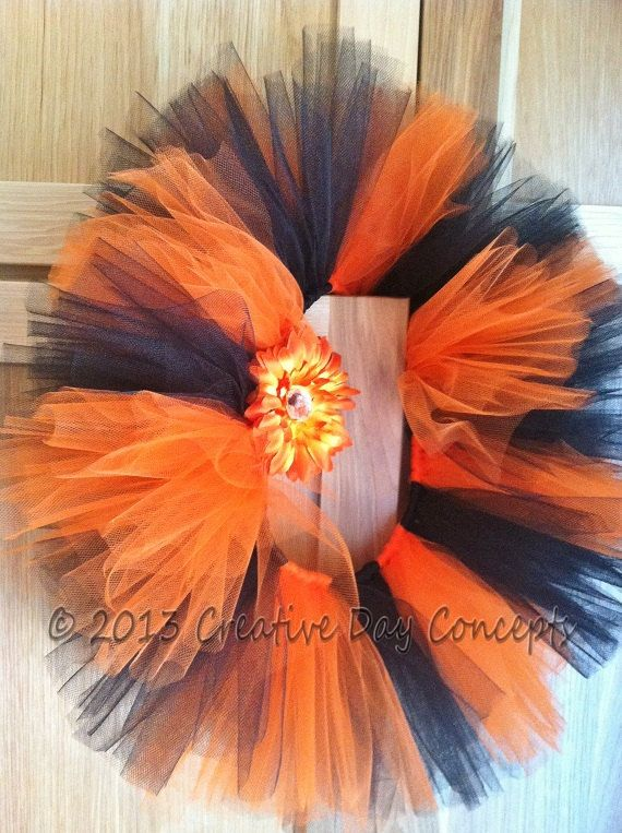 350e38db9d Tiger stripe tulle tutu skirtorange and black by creativedaytutus ...